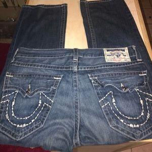 Like new men true religion bootcut jeans